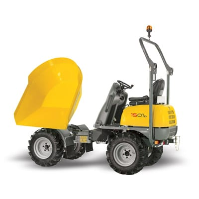 Wacker Neuson 1501 Dumper Side View ROPS