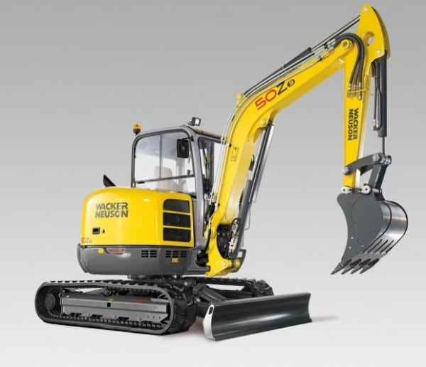 Wacker Neuson 50Z3 Mini-Excavator