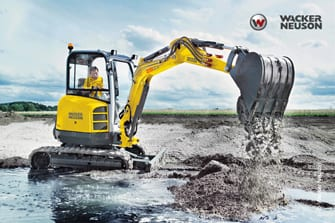 Wacker Neuson Action 28z3 Mini-Excavator