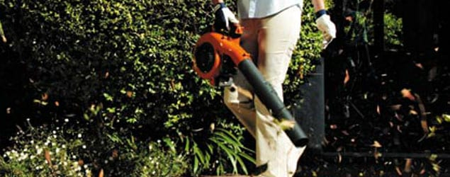 best leaf blowers: Husqvarana Leaf Blowers