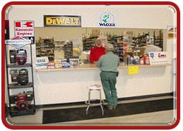 gamka service parts counter
